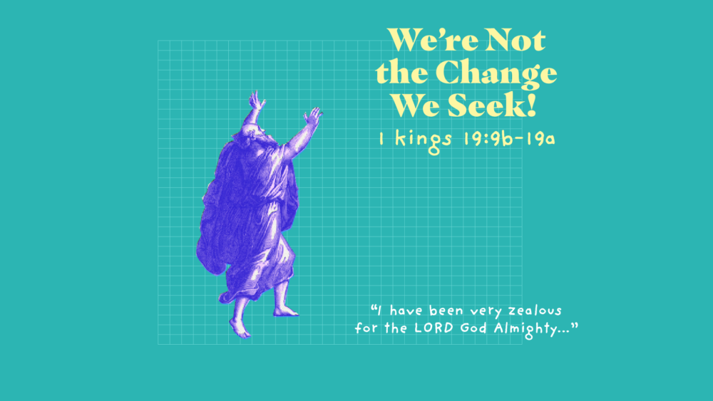 We Are Not The Change We Seek